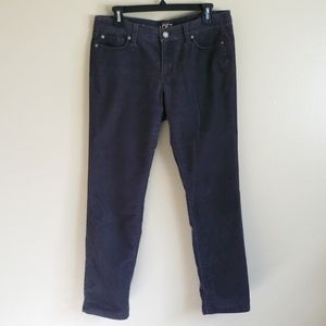 Ann Taylor LOFT modern straight cordoroy pants